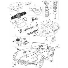 Fuel Tanks and Pumps, V12 - E-Type (1971-1975)