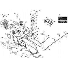 Heater Components, 6-Cylinder - E-Type (1961-1971)