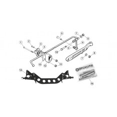 Front Suspension, anti-roll bar - E-Type (1961-1971)