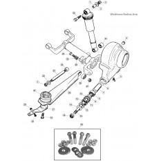 Rear Suspension, wishbone radius arm - E-Type (1961-1975)