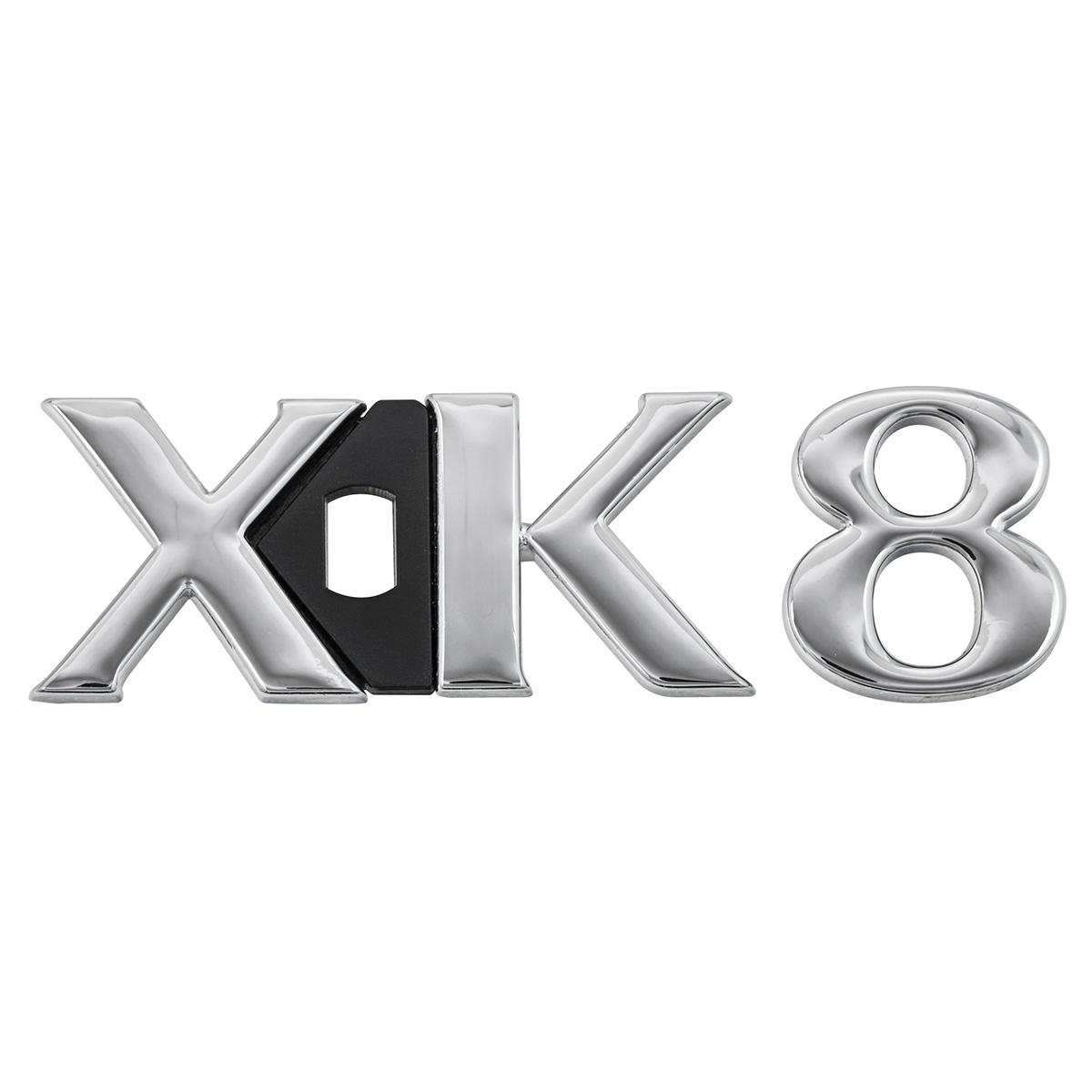 "Jaguar XK8 X100 - Rear badge - RH - Chrome ""XK8"" - Genuine ..."
