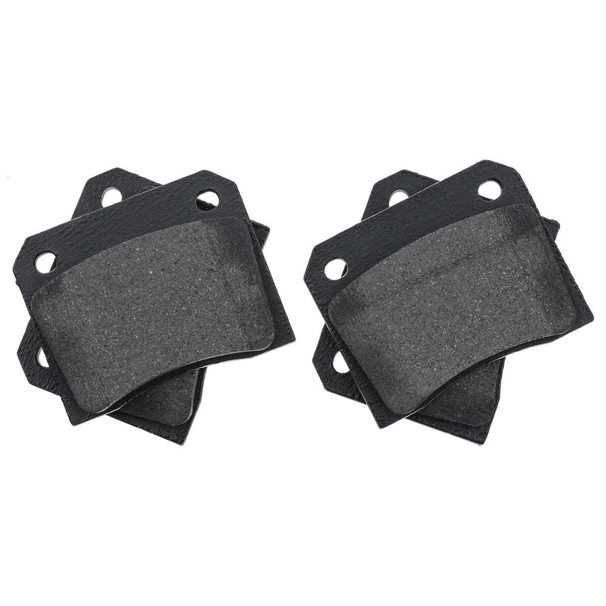 QH Front Brake Pads Set of 4 for JAGUAR E TYPE Series 2 /& 3-1968 to 1975