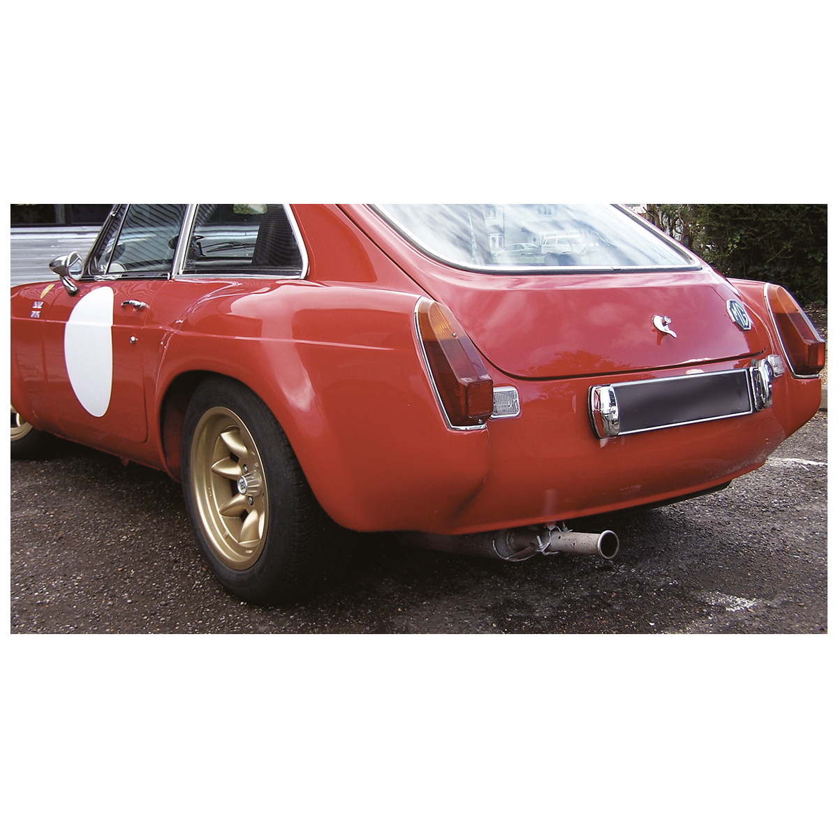 MGS70738 MGB-Arrière Valance-Sebring Style-fibre de verre 1962-1980 RD GT NEUF