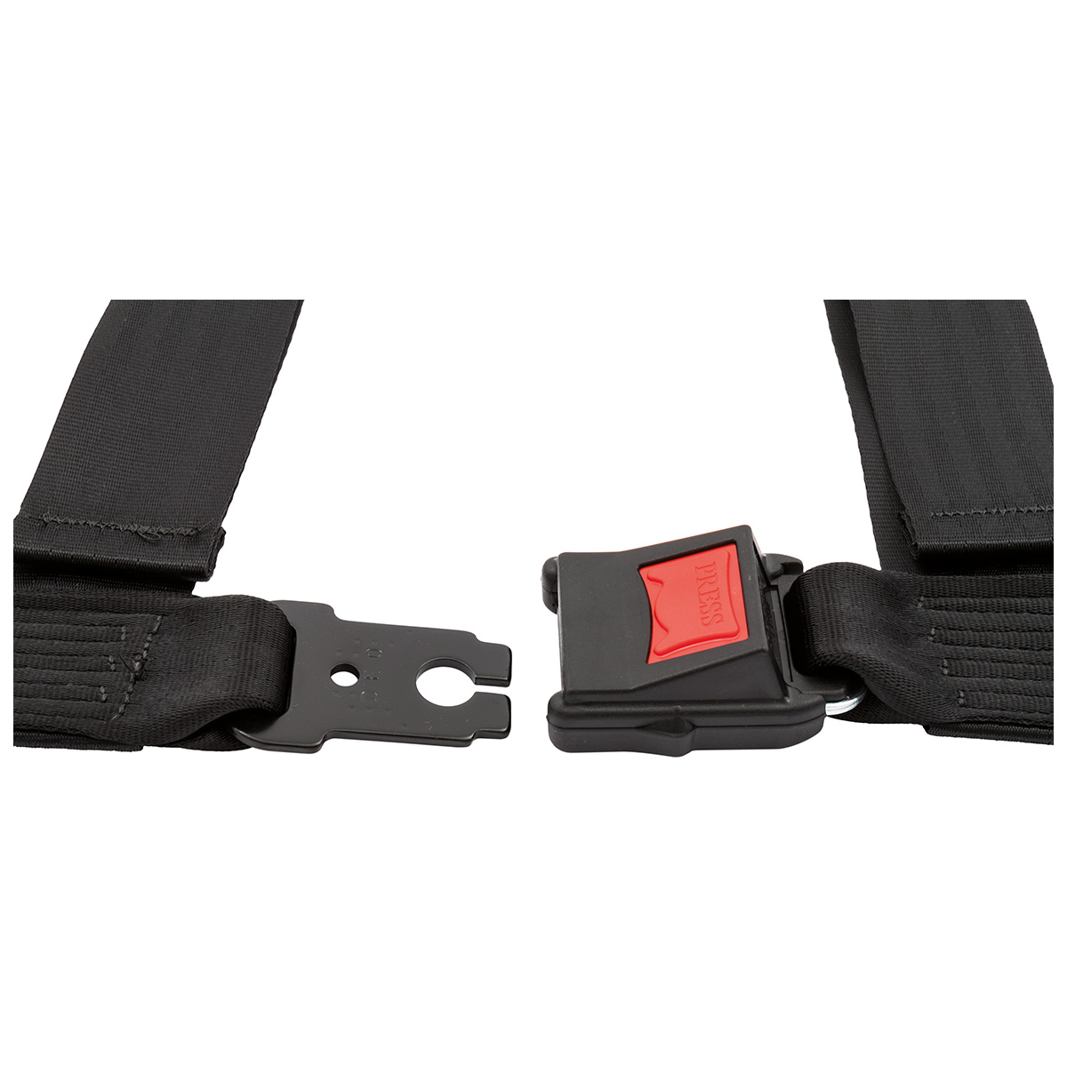Red Securon 605RED Harness-3 Point and Snap Hooks Seat Belt