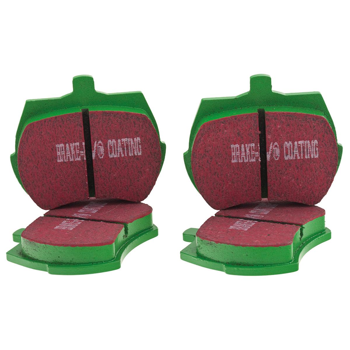EBC YellowStuff Brake Pads for D2 8 Pot 330//356mm Brake Kit DP4006R