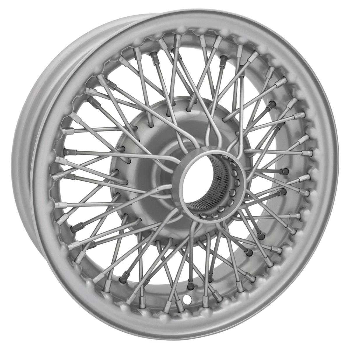 MG Midget Chrome Wire Wheel 6O Tubeless 13 x 4 Austin Healey Sprite