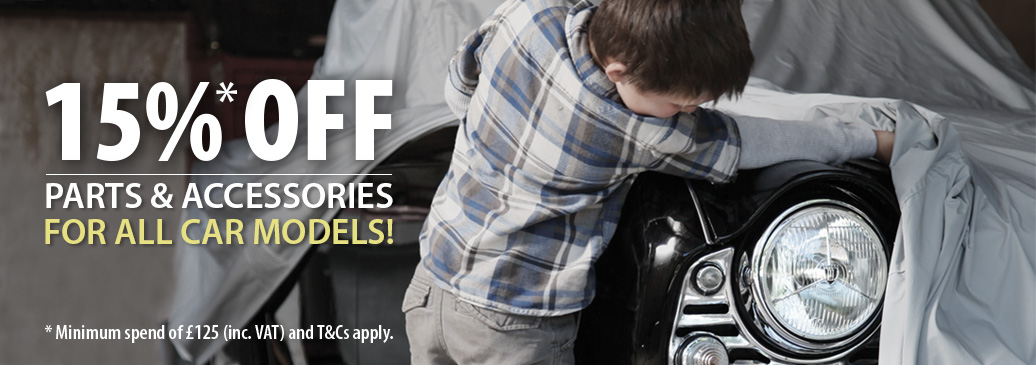 *15% Off Classic Car Parts & Accessories For All Car Models!