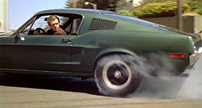 Bullitt – 1968 Ford Mustang GT390 Flashback