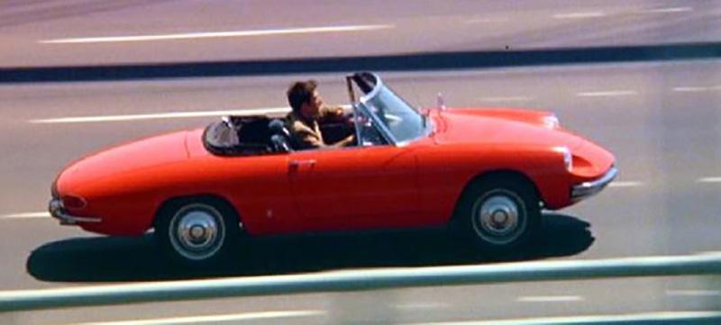 The Graduate – 1966 Alfa Romeo 1600 Spider Duetto