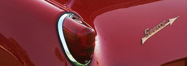 Frogeye Sprite rear lights