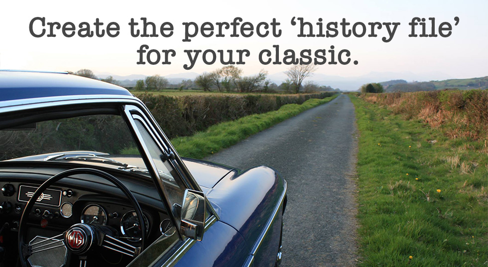 Create the perfect history file for your classic