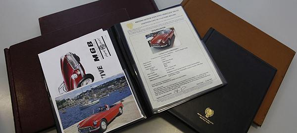 Create a car history file image 01