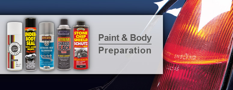 View our range of paint & body preparation for your vehicle