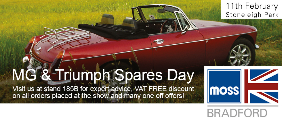 MG & Triumph Spares Day 2018