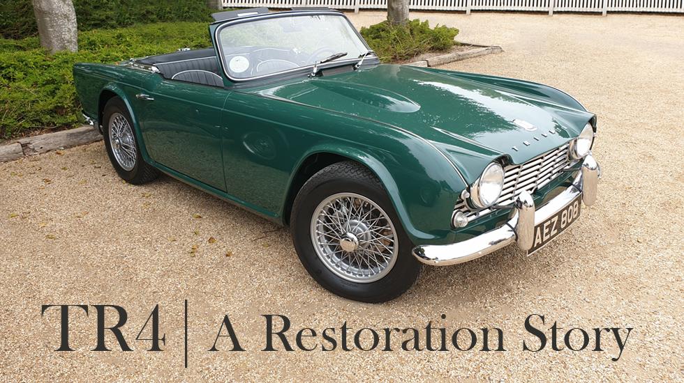 TR4 A Restoration Story blog
