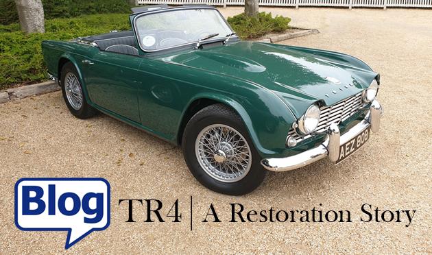 TR4 A Restoration Story