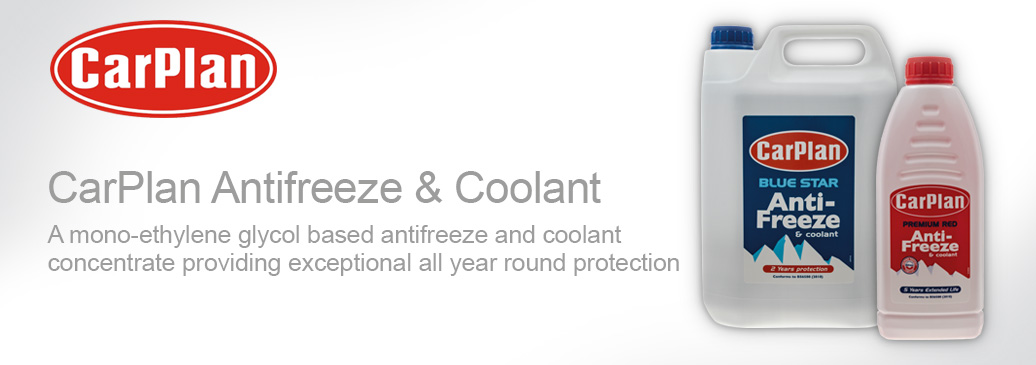 Red & Blue Antifreeze & Coolant by CarPlan