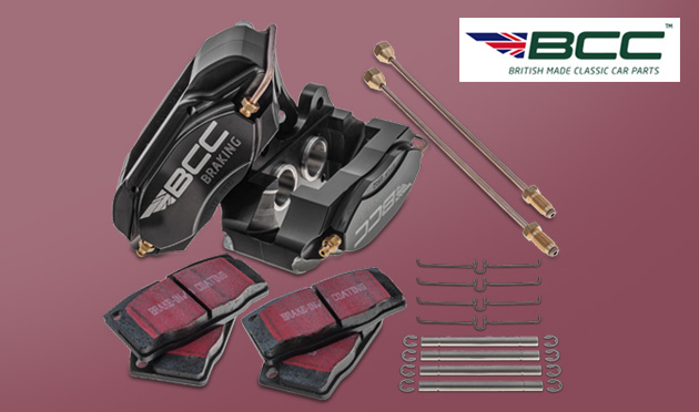 BCC Calipers use the best materials with precision engineering