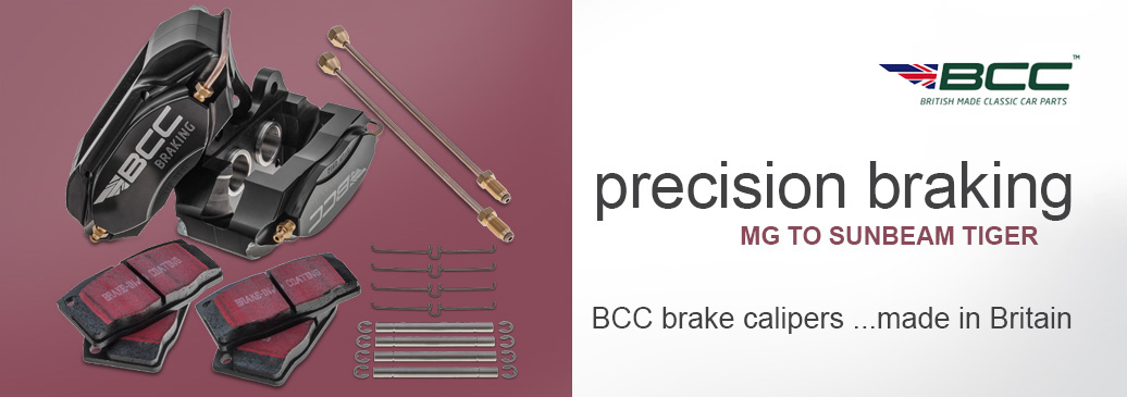BCC brake calipers manufactured in Britain using precision engineering