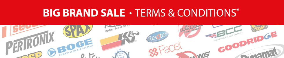 Save up to 25%* on over 3000 parts & accessories from our big name brands!
