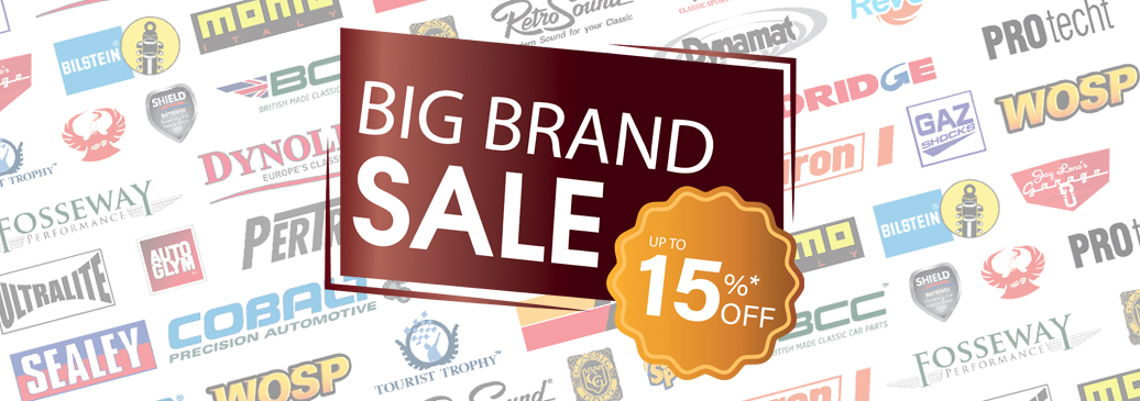 Save up to 15% on over 3000 parts and accessories from our big name brands!