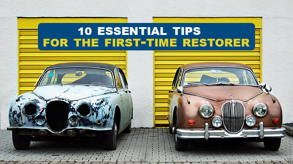 Ten essential tips for the first-time restorer