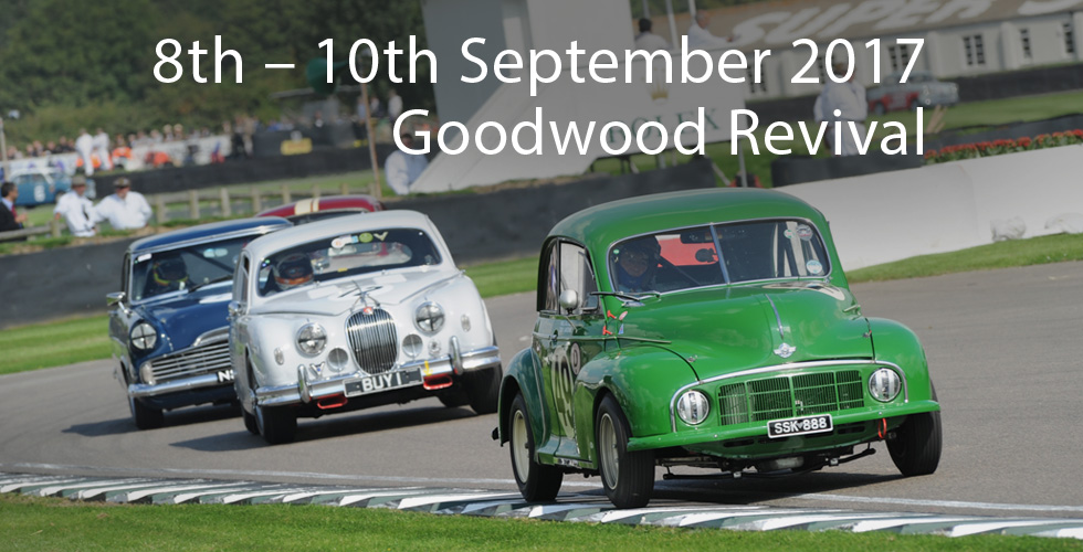 Goodwood Revival 2017 live stream blog page image