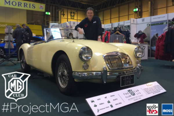 Mike Brewer's #ProjectMGA