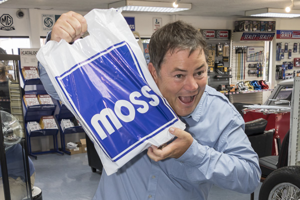 Mike Brewer is happy with his parts