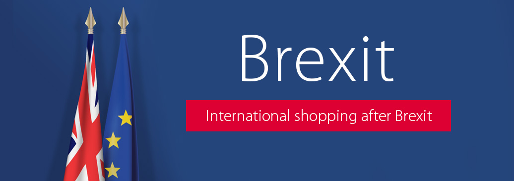 International shopping after Brexit