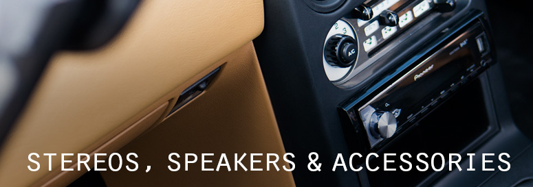 Car Stereos, Speakers & Accessories