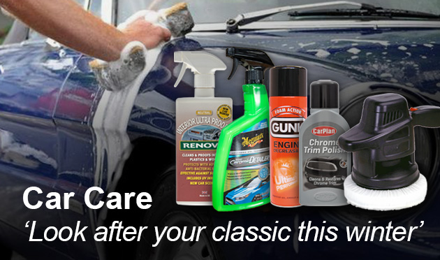 Look after your classic this winter