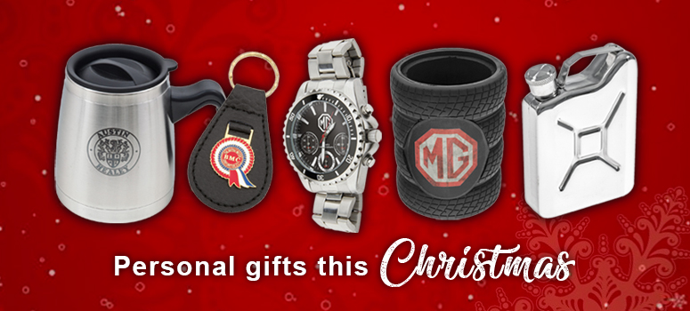 View our range of personal gifts this Christmas