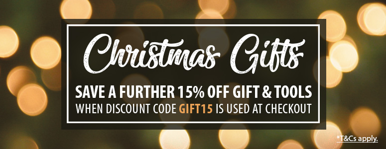 Use Code GIFT15 To Save Up To 45%* on Christmas Gifts & Tools