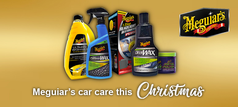 View our range of Meguiar's car care products this Christmas
