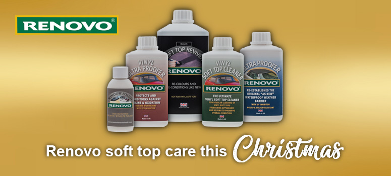 View our range of Renovo hood car care products this Christmas
