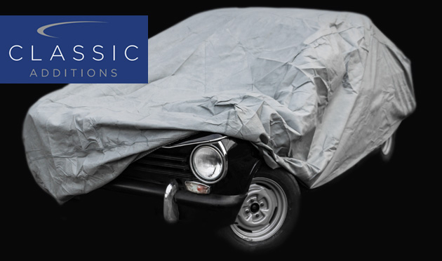 Make sure you cover your Classic properly this winter with a car cover by Cassic Additions
