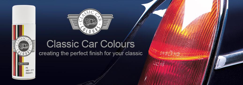 Classic Car Colours paints