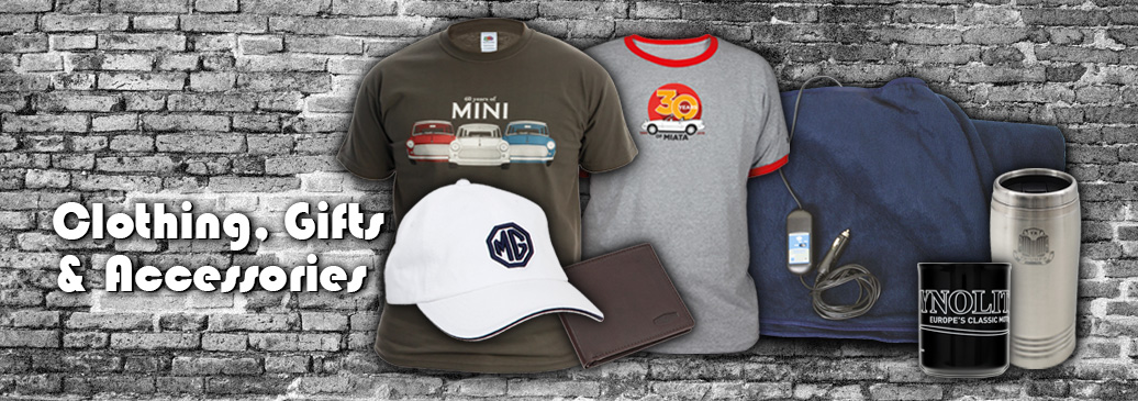 Clothing, gifts & accessories