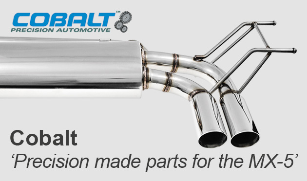 Cobalt high quality exhaust systems for the MX-5