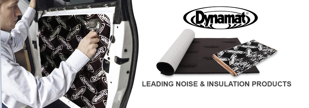Dynamat, the leading range of noise & heat insulation