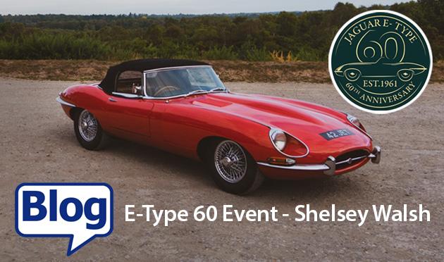 Celebrating 60 years of the iconic E-Type at Shelsey Walsh