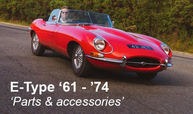 Parts & accessories for the Jaguar E-Type