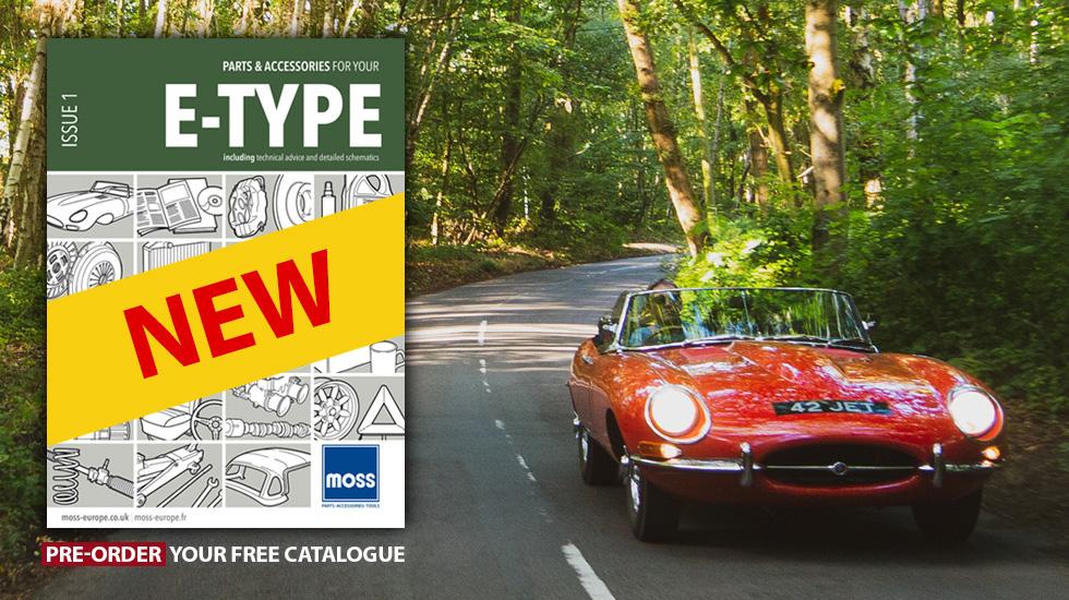 Pre-order the new Jaguar E-Type catalogue