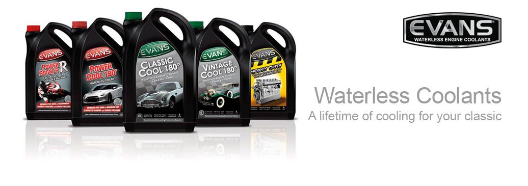 Evans waterless engine coolants