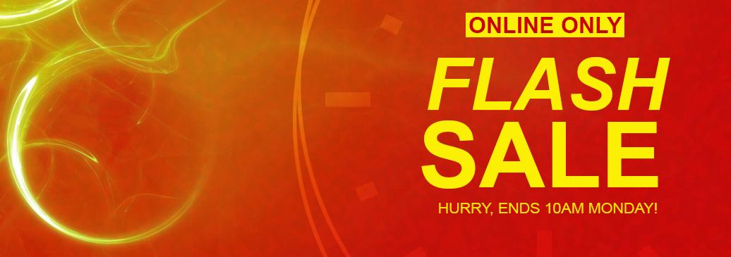 Flash Sale Online Exclusive