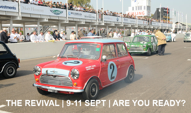 Ideal gear for Goodwood Revival