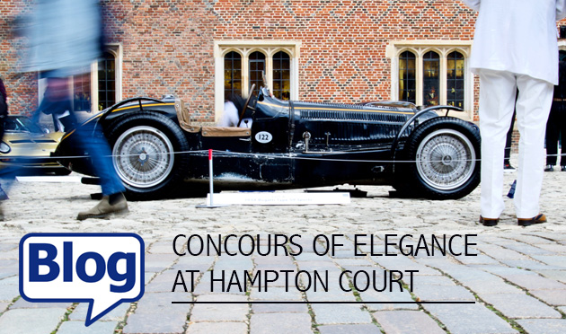 Hampton Court Concours of Elegance blog