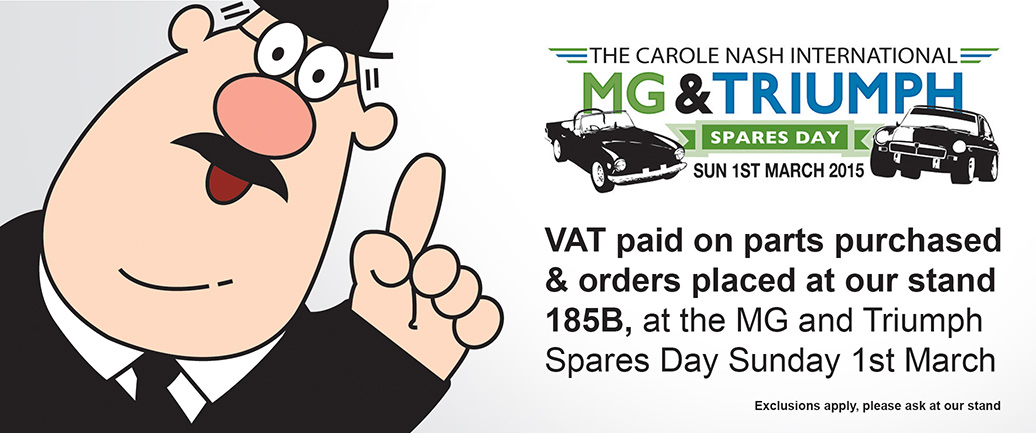 MG & Triumph Spares Day 2015