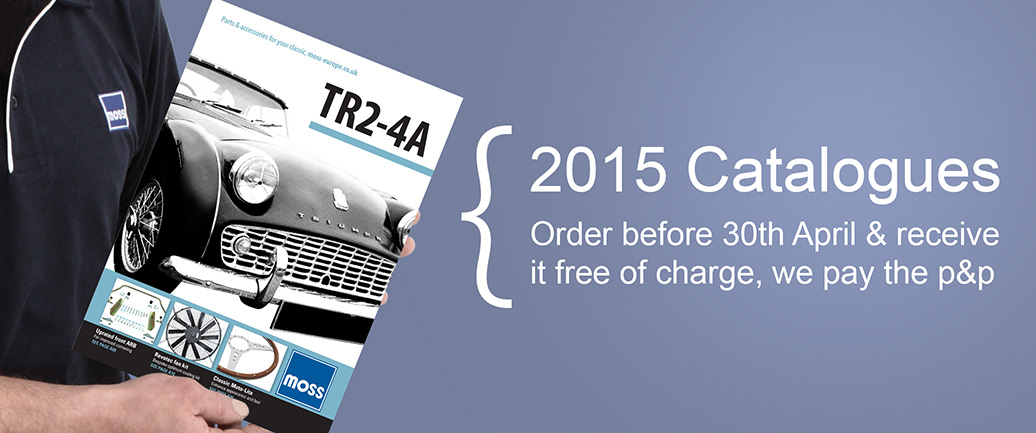 New 2015 Catalogues free of charge before 30th April